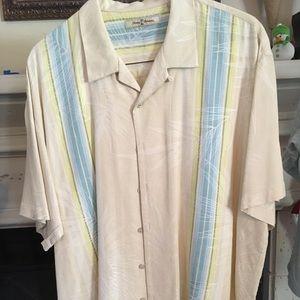 Tommy Bahama Silk Camp Shirt XXL💙